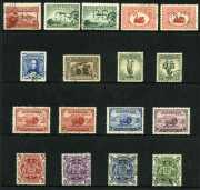 Selection of fine used Pre-Decimal and Decimal stamps including 1927 1½d Canberra perf OS, 1929 3d Airmail Type A and B perf OS, 1929 1½d WA Centenary perf OS, 1931 6d Brown Airmail O/P OS, 1932 1/- Lyrebird O/P OS, 1934 Macarthur set and 1949-50 Arms set. Majority CTO with gum. Odd minor fault.