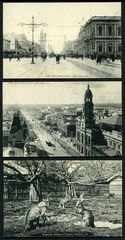Selection of 12 different black and white postcards showing views of Adelaide issued by the State Tourist Bureau and Intelligence Office. Superb condition.