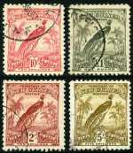 1931 Dated Birds set fine used. Odd minor blemish on lower values. Sg 150-162. Catalogue Value $1,050.00.