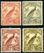 1932-34 Undated Birds set MLH. £1 has minor perf faults. Sg 177-189. Retail $325.00.