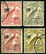 1932-34 Undated Birds set O/P Air Mail FU. Odd blemish on a few low values. Sg 190-203. Catalogue Value $578.00.