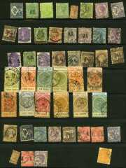 Small accumulation of mostly used stamps including useful items and a few higher values, some fiscals and a small selection of mint, with varying duplication and the odd fault. High catalogue value.