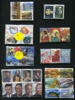 Accumulation of 5,610 good to fine used Decimal Commemorative sheet stamps from 2006 to 2009, all sorted into various size bundles including 2006 Dangerous Australians set (50), 2008 $1.10, $1.65 and $2.75 Tourist Precincts (150 of each), 2008 For Every Occasion set of 10 (50), 2008 Megafauna set (50), 2009 Queensland - 150 Years set (50), 2009 55¢ Australian Parks and Gardens set (50), 2009 55¢ Legends of the Screen set (50), 2009 Australian Songbirds set (50), 2009 55¢ Classic Toys set (50) and 2009 55¢ Australia Post - 200 Years set (50), plus few Territory issues.