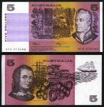1982 $1.00 Johnston/Stone, 1985 $2.00 Johnston/Fraser and 1990 $5.00 Fraser/Higgins Unc banknotes. 10 of each with consecutive serial numbers. McDonald 110, 131 and 152. Catalogue Value $700.00.