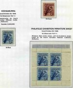 Collection of 285 different mint Pre-Decimal issues from 1914 to 1965 on Seven Seas Hingeless pages. Includes 1914 6d Claret Kooka, 1928 3d Blue Kookaburra M/S, 1931 2d and 3d Kingsford Smith O/P OS, 1931 6d Brown Airmail O/P OS, 1932 1/- Lyrebird, 1932 1/- Lyrebird O/P OS, 1932 5/- Green Sydney Harbour Bridge (light toning), 1934 Perf 10½ and 11½ Vic Centenary sets, 1934 Macarthur set of 4, 1934 1/6 No Wmk Hermes, 1935 Anzac set, 1935 Silver Jubilee set, 1936 SA Centenary set, 1937 NSW Sesqui set, 1937-40 3d Blue Die I, Die 1A, Die II Thick and Thin Paper and Die III KGVI, 1937-38 Perf 13½ Zoological set, 1938-49 Thick and Thin Paper Robe sets, 1940 AIF set, 1949-50 Arms set (£2 creased), 1961-64 5/- Cream and White Paper Cattle and 1963-64 Navigator set of 8. Generally fine MLH condition with some minor faults. High retail value.