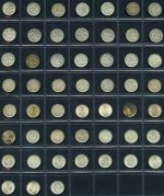 Complete set of Threepence from 1910 to 1964 excluding overdate issues and complete set of Sixpence from 1910 to 1963. Includes all different mintmarks. Earlier issues usual lower circulated grades with several later issues aUnc.