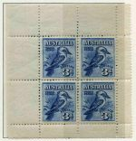 Collection of mint Pre-Decimal and Decimal stamps from 1927 to 1984 in Schaubek Hingeless album. Includes a useful range of Kangaroo and KGV issues, 1928 3d Kookaburra M/S, 1934 Perf 10½ Vic Centenary set, 1934 Macarthur set, 1935 Silver Jubilee set, 1936 SA Centenary set, 1937 NSW Sesqui set, 1938 £1 Thick Paper Robe, 1964 £2 Navigator FU and complete MUH Decimal collection including 1971 White Paper Christmas unfolded block of 25. Odd minor fault and Pre-Decimal issues mixed MLH and MUH.