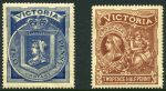 1897 Charity set MUH and well centered. Sg 353-354.
