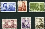 1963-64 Navigator set of 6 MUH and well centered. 10/- and £1 values Cream Paper.