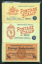 1952 3½d Purple-Brown KGVI original and revised text, 1953 3½d Carmine Red Wmk QEII (5), 1957 4d Lake QEII (2), 1960-62 5d Blue QEII