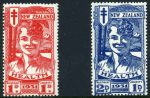 1931 Smiling Boys Health set. 1d MLH and 2d MUH. Sg 546-547.