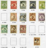 Collection of good to fine used Pre-Decimal and Decimal stamps from 1913 to 1987 on Seven Seas Standard album pages. Includes 1914 6d Claret Kooka CTO, 1931 2d and 3d Kingsford Smith O/P OS CTO with gum, 1931 6d Brown Airmail O/P OS, 1932 6d C of A Wmk Kangaroo O/P OS CTO, 1932 1/- Lyrebird O/P OS CTO, 1934 Vic Centenary set, 1934 Macarthur set, 1935 Anzac set, 1935 Silver Jubilee set, 1938 Thick Paper Robe set, 1949-50 Arms set, 1963-64 Navigator set and largely complete simplified Decimal issues including 1969 Flight block of 9 and 1971 Christmas block of 7. Also AAT 1957-61 Pre-Decimal set and Cocos (Keeling) Island 1963 Definitive set FU. Odd minor fault.
