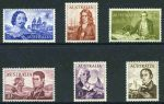 1963-64 Navigator set of 6 MUH and well centered. 10/- White Paper and £1 Cream Paper.