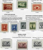 Collection of MUH Pre-Decimal stamps from 1927 to 1965 on Seven Seas Hingeless pages including 1931 6d Brown Airmail O/P OS, 1932 1/- Lyrebird, 1934 Perf 10½ and 11½ Vic Centenary sets, 1934 Macarthur set, 1935 Anzac set, 1935 Silver Jubilee set, 1936 SA Centenary set, 1937 NSW Sesqui set, 1937-40 3d Die II Thick and Thin paper and Die III KGVI, 1937 perf 13½ Zoological set, 1938-49 Thick and Thin Paper Robes set, 1940 AIF set, 1946 BCOF set, 1949-50 Arms set (10/- O/P Specimen and £2 with short perfs), 1961-64 5/- Cream and White paper Cattle MUH and 1963-64 Navigators set of 8. Mainly fine well centered condition. High retail value.