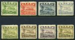 1924-34 Rough Paper Ships set excluding ½d and 2d values CTO with gum. Usual odd short perf and varied centering. Sg 27A, 28A and 30A-39A. Catalogue Value £385.00.