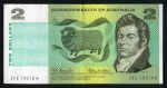 1966 $2.00 Coombs/Wilson Commonwealth of Australia Star replacement banknote VF. Serial no ZFC 18216*. McDonald 121s.