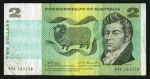 1967 $2.00 Coombs/Randall banknote VG (7). No tears or pinholes. McDonald 122.