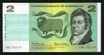 1966 $2.00 Coombs/Wilson banknote VF. (41). Some consecutive runs. McDonald 121.