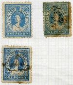 Collection of 353 mostly used Stamp Duty issues from 1866 to 1926, including watermark, perforation and shade variations, with a good range of values up to £5 (embossed cancel), plus Queen Victoria Impressed Duty issues to £200, mostly with clear embossed cancels. Usual variable condition, with some duplication.