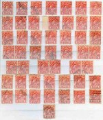 Accumulation of many hundreds of used KGV issues comprising all watermarks including shade variations and some varieties in Lighthouse stockbook. Noted 1d Engraved (49), 1d Red Die III (24), 2d Brown (28), 4d Orange and Orange Yellow (190, inc one with Line through