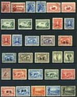 Collection of 109 different good to fine used Pre-Decimal issues from 1914 to 1965, including 1914 6d Claret Kooka, 1928 3d Kooka perf OS, 1929 3d Green Airmail Type A perf OS, 1929 1½d WA Centenary perf OS, 1931 2d and 3d Kingsford Smith O/P OS (CTO), 1931 6d Brown Airmail O/P OS, 1932 1/- Lyrebird O/P OS, 1932 5/- Green Sydney Harbour Bridge (CTO with few blunt perfs), 1934 Perf 10½ and 11½ Vic Centenary sets, 1935 1/- Anzac, 1935 2/- Silver Jubilee, 1938 Thick Paper Robe set, 1949-50 Arms set and 1963-64 Navigator set of 6. Mainly VFU or CTO with odd minor fault. High retail value.