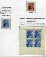Largely complete MLH Pre-Decimal collection from 1914 to 1965, including few additional items and duplicates in Seven Seas album. Noted 1914 6d Claret Kooka, 1927-30 1½d Canberra (2), 3d Kooka, 3d Airmail Type A and B, 1½d WA Centenary and Sturt set (3) perforated OS  1928 3d Blue Kookaburra M/S (tiny thin spot), 1931 2d and 3d Kingsford Smith O/P OS, 1932 1/- Lyrebird, 1932 1/- Lyrebird O/P OS, 1932 5/- Green Sydney Harbour Bridge (centered to base), 1934 Perf 10½ and 11½ Vic Centenary sets, 1934 Macarthur set of 4, 1934 1/6 No Wmk Hermes, 1935 Anzac set, 1935 Silver Jubilee set, 1936 SA Centenary set, 1937 NSW Sesquicentenary set, 1937-40 3d Blue Die I, Die 1A, Die II Thick and Thin Paper and Die III KGVI, 1937-38 Perf 13½ Zoological set, 1938 Thick Paper Robe MUH, 1948-49 Thin Paper Robe set, 1940 AIF set (3), 1946 BCOF set MUH, 1949-50 Arms set, 1949-50 Arms Specimen set MUH, 1953 Food blocks of 9 set MUH (4 sets),  1961-64 5/- Cream and White Paper Cattle and 1963-64 Navigator set of 8. Odd minor fault. High retail value.