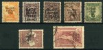1946 BCOF set FU. 2/- with few short perfs and 5/- Thick Paper and well centered. Also 1933 2d Perf 11 C of A Wmk block of 54 and 1953 5/- C of A Wmk block of 30 Postage Dues FU. 5/- with tone spots.