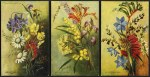 Western Australia For The Tourist postcards of Western Australian Flora No's 4, 5, 6, 9 and 10 by Janie Craig. Excellent condition.