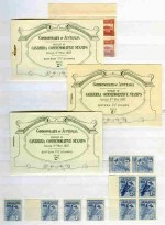 Accumulation of hundreds of MUH Pre-Decimal from 1927 to 1965, plus small range of MUH Decimal issues to 1974 in singles, pairs and blocks in Lighthouse stockbook. Includes 1927 1½d Canberra booklet (3, back covers with minor faults), 1929 3d Airmail Type A Plate No 3 corner block of 4, plus addtional block of 4, 1931 6d Kingsford Smith block of 4 (2), 1932 6d Brown Kooka imprint block of 4, 1934 1/- Perf 11½ Vic Centenary, 1934 1/6 No Wmk Hermes, 1935 Anzac set, 1935 Silver Jubilee set, 1936 2d (8), 3d (22) and 1/- (10) SA Centenary, 1937 NSW Sesqui set, 1937-40 3d Blue Die I White Wattles and Die III imprint pair KGVI, 1938 £1 Thick Paper Robe, 1938 Green Test coil pair (8), 1940 AIF imprint pair set, 1942 3½d Blue KGVI Thin Paper block of 4, 1949-50 5/- Thin Paper and £2 (rounded corner) Arms, 1951 3d Scarlet KGVI coil pair (11) and Thin Paper block of 4, 1951 7½d Blue KGVI Thin Paper block of 4, 1953 Food strip of 3 set (5), 1953-58 2/- Commemoratives (48), 1961 5/- Cream Paper Cattle (6), 1963-64 2/3 Commemoratives (72), 1964 2/3 Wattle on White Paper (28), 1964 7/6 (3), 10/- and £1 Navigators, 1965 5d Red QEII booklet pane, 1966 Navigator Specimen set (4, 2 sets without gum), 1974 10¢ Plate No 2 left side (2) and 35¢ Plate No 2 right side Christmas gutter blocks of 4 and many more handy items. Mixed centering and some minor faults, but mainly fine. Very high retail value.