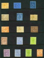 Selection of 22 mostly used Stamp Duty issues and 2 overprinted Reprint, plus some Queensland and New Zealand and a few miscellaneous items.