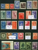 Collection of 205 mostly MUH stamps from 1906-1956, including some useful 1952 Currency Revaluation issues. Odd fault. Catalogue Value �280.00.