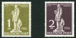 1949 U.P.U. set MUH. Odd very slight gum wrinkle. Sg B54-B60. Catalogue Value �950.00.