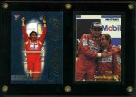 1994 Futera TC1 Ayrton Senna Tribute Card [244/500], plus 1991 Ayrton Senna card no's 1 and 172 ProTrac's Formula One cards in excellent condition.