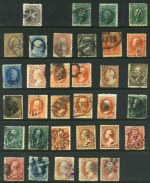Selection of 210 used stamps from 1861 to 1941, including highly catalogued items, a few Postage Due and Hawaiian issues and variable duplication. Some faults and heavy postmarks. Very high catalogue value.