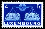 1951 United Europe set MLH and well centered. Sg 543-548. Catalogue Value �300.00.