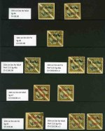 1923 selection of 10 MLH and 7 FU Air issues including 10m on 5m perf 11� MLH and FU (2), 20m on 5m perf 11� MLH (2) and 45m on 5m 2nd Print FU (2). Several with expertisation marks on reverse. Sg 46-48a. Offered as is. Catalogue Value �3,668.00.