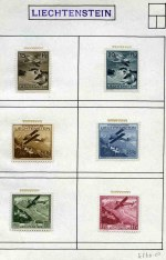 Small selection of MLH stamps including 1930 Air, 1949 Paintings, 1957 Christmas, 1958 Sports and 1958 Trees sets. Catalogue Value �414.00.