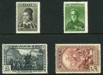 1930 10d, 15d, 25d and 50d Centenary of Independence mint. 25d and 50d values MLH. Sg 446-447 and 449-450. Catalogue Value �241.00.