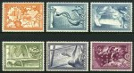 1951 Reconstruction set MLH. Sg 692-697. Catalogue Value �294.00.