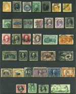 Collection of many hundreds of mostly used stamps from 1851 to 1976, including many highly catalogued early issues, a handy range of Airmails, plus selection of Confederate States, Special Delivery, Postage Dues, Officials and Parcel Post stamps in Scott illustrated album. Early issues in usual variable condition.