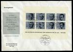 1964 Attempt on Hitlers Life M/S on official unaddressed FDC.