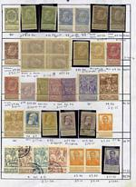 A range of MUH, MLH and fine used stamps from a range of periods, with many better sets and highly items on a small bundle of exchange sheets. Main strength in Belgium, Germany and Iceland. Priced to sell some years ago at over $3,200.00. Odd fault, but priced accordingly in such cases. Very high catalogue value.