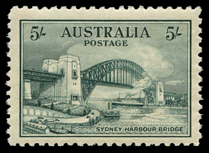 Complete MUH Pre-Decimal and Decimal simplified collection from 1927 1½d Canberra to 1980 Aircraft set in Sherwood Albums including 1928 Kookaburra M/S (light crease in margin), 1932 1/- Lyrebird, 1932 5/- Sydney Harbour Bridge (tiny tone spot), 1934 Perf 10½ Victorian Centenary set, 1934 Macarthur set, 1935 Anzac set, Silver Jubilee set, 1936 SA Centenary set, 1937 NSW Sesquicentenary set, 1938 Thick Paper Robe set, 1940 3d Blue Die III KGVI, 1940 AIF set, 1949-50 Arms set, 1961 5/- Cream Paper Cattle and 1963-64 Navigator set of 6. Odd minor fault.