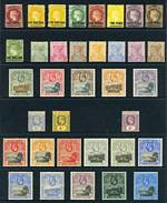 Collection of MUH and MLH stamps from 1863 to 2008, including 1863 1d Lake surcharge Type A Queen Victoria imperf MLH, 1890-97 Queen Victoria set MLH, 1903 KEVII set excluding 2d value, 1938-44 KGVI Definitive set MLH, 1953-59 QEII Definitive set MUH, plus 2 additional sets MLH, 1961-65 QEII Definitive set MUH, plus additional set MLH and largely complete from 1963 1/6 Freedom From Hunger to 2008 Royal Air Force set, in Hagner binder with slipcase. Majority of issues from 1963 onwards MUH including some duplicate sets. Few early items with odd fault and minor blemishes. Catalogue Value £2,740.00.