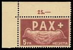 1945 Peace set of 13 MUH. 1f has one short perf, the 10f with tiny and slight gum disturbance. Sg 447-459. Catalogue Value £275.00.