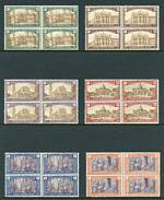 Collection of MUH blocks of 4 from 1924 to 1949, including 1924 Holy Year set, 1926, 1928 and 1930 National Defence sets, 1929 Centenary of Abbey of Monte-Cassino set, 1931 Death Anniversary of St. Antony of Padua set and 1949 Biennial Art Exhibition set. Few issues represented by pairs. Odd minor blemish. Catalogue Value £4,565.00.