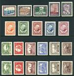 Collection of MUH, MLH and FU stamps from 1918 to 2013, including handy range of early issues and many sets in 2 small stockbooks. Noted 1925 Anniversary of City of Libau set MUH, 1928 Liberty Memorial Fund perf and imperf sets MLH, 1930 Rainis Memorial Fund perf 11 set MUH, 1930 Air imperf set MUH and 1932 Militia Maintenance Fund imperf set MLH. Some duplication and majority of Independent issues FU. High catalogue value.