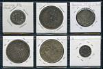 Selection of 16 Silver coins including Austria 1780 Thaler Joseph II restrike Unc, 1978 100 Schilling Battle of Durnkrut and Jedenspeigen Unc German States - Baden 1876 5 Mark Friedrich I with inverted