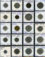 Selection of 33 coins from 1594 to 1996, including German States Solms-Lich 1594 2 Kreuzer F, Pfalz-Sulzbuch 1763AS 10 Kreuzer Car.Theodor D.G. VG, Wurttemberg 1843 1 Gulden Wilhelm I aVF, Prussia 1913 3 Mark Wilhelm II 25th Year of Reign gVF, Germany 1914D 1 Mark Unc, 1916D ½ Mark Unc, 1936F 5 Reichsmark Hindenburg VF, 1937A 2 Reichsmark Hindenburg VF, 1951F VF, 1965D VF, 1970G EF, 1972J EF and 1974F EF 5 Mark, and 1987J 10 Mark 750th Anniversary of Berlin Unc, 1988D 10 Mark Schopenhauer Unc and 1995 10 Mark Peace and Reconciliation EF Silver coins.