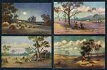 J. Hutchings Australian Series collection of 22 different postcards. VG condition.